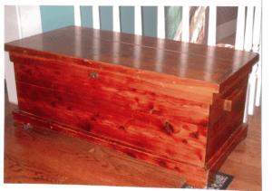 Photo of Yount cedar chest
