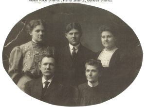 Photo of the Shantz family