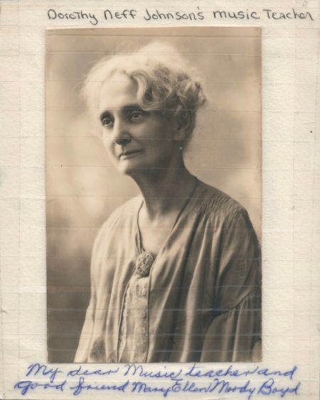 Photo of Mary Ellen Moody Boyd-1920