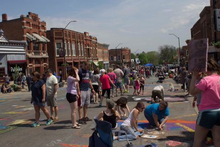 Photo of Chalk the Walk-2015
