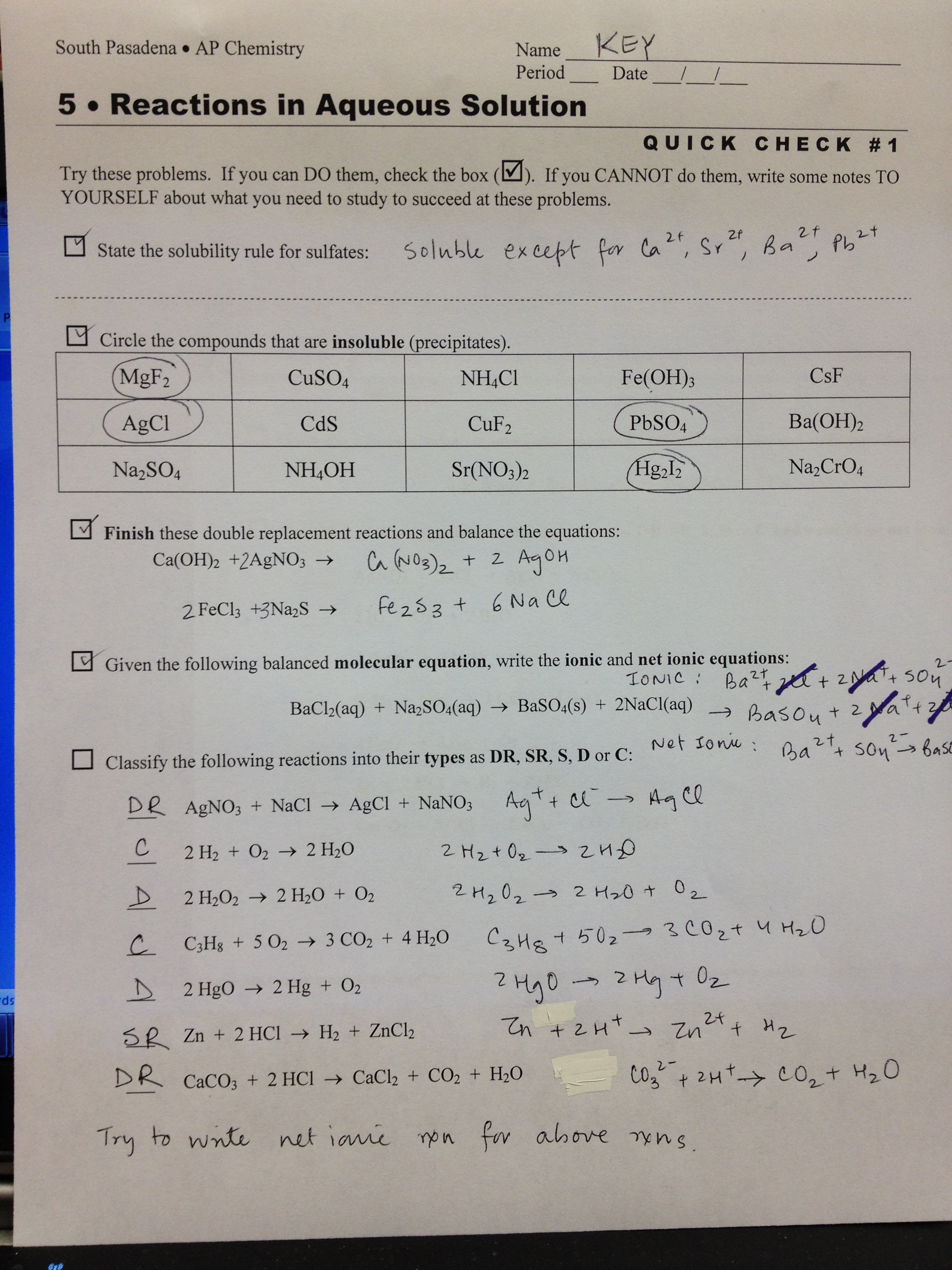 Periodic Trends Worksheet Answers Quizlet