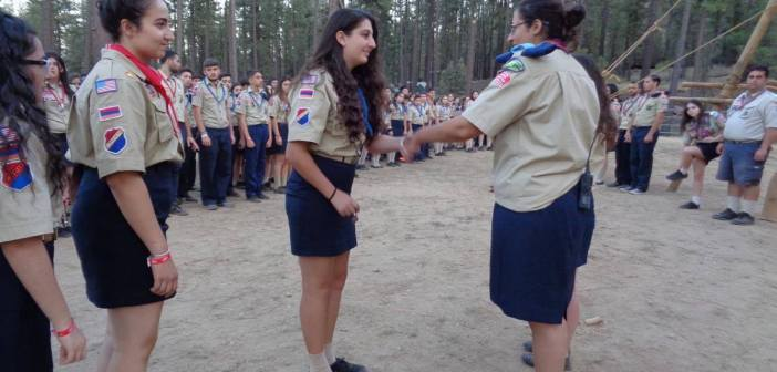 Female members of coed troops share their take on the Boy Scouts' inclusion of girls