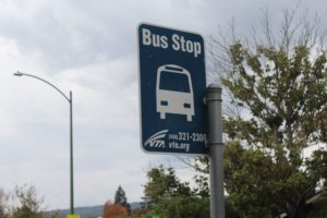 A possible improvement to transit SR-85 would be a bus-only lane on the highway.