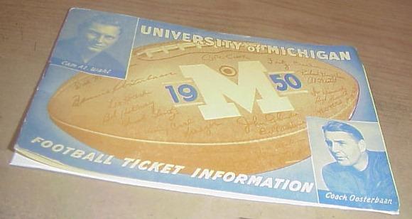 1950 Ticket Info