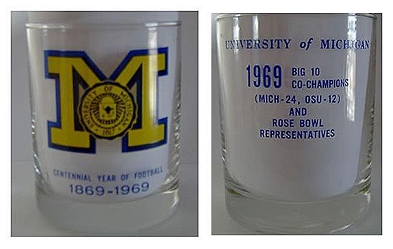 1969 Michigan glass