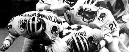 1984 Sugar Bowl - Michigan uniforms