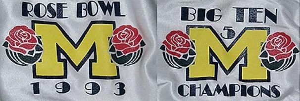 1993 Rose Bowl shoulders