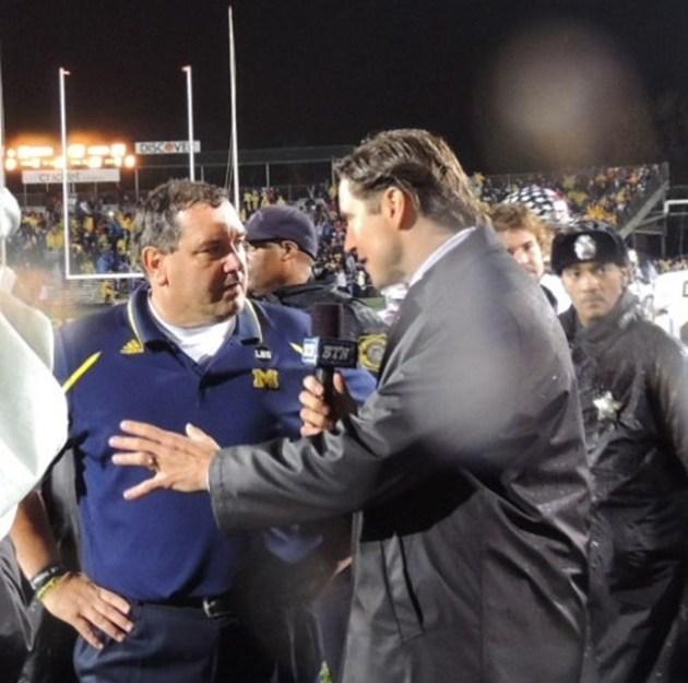 J Lehman chats with Brady Hoke
