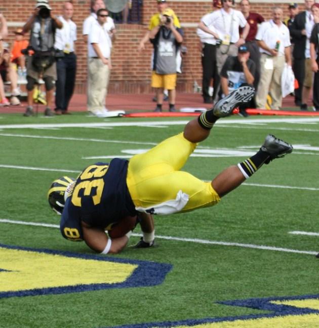 T. Rawls Touchdown