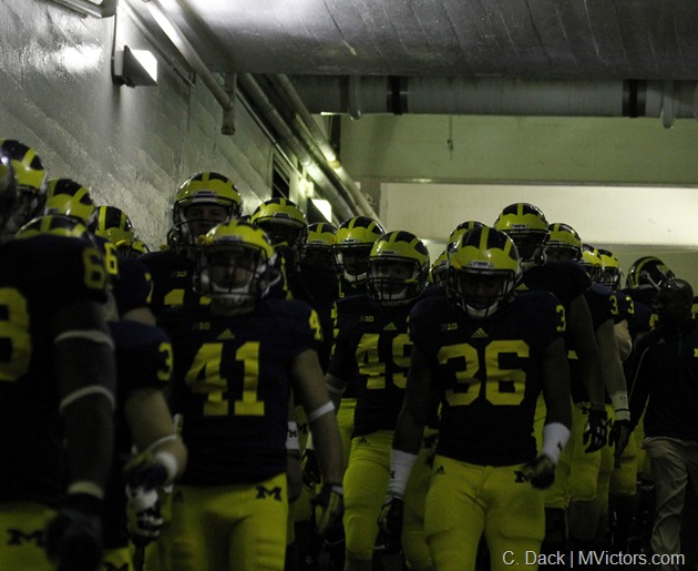 Wolverines leave the tunnel