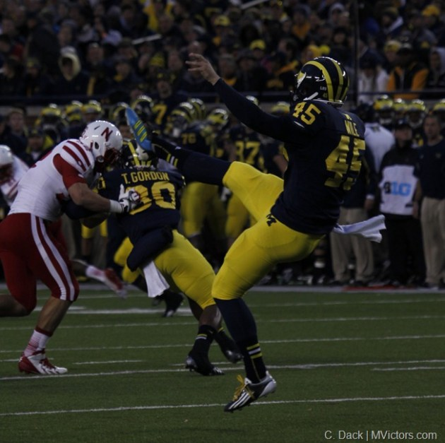 Matt Wile - 69 yard punt