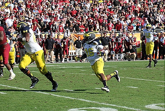 Denard Robinson Running Back   2013 Outback Bowl