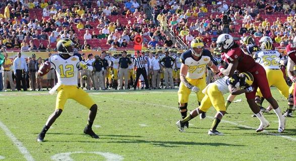 Devin Gardner   2013 Outback Bowl
