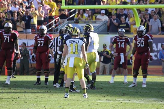 Jordan Kovacs   2013 Outback Bowl