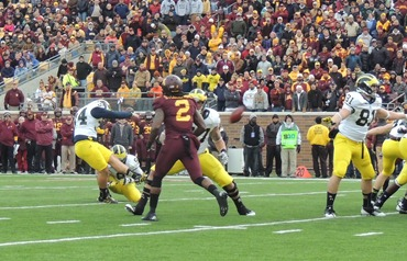 Brendan Gibbons Extra Point - Minnesota 2012