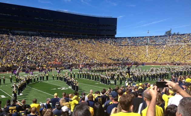 Michigan Band Facing East