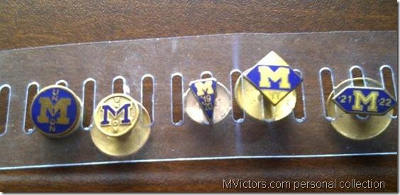 Michigan Union Pins