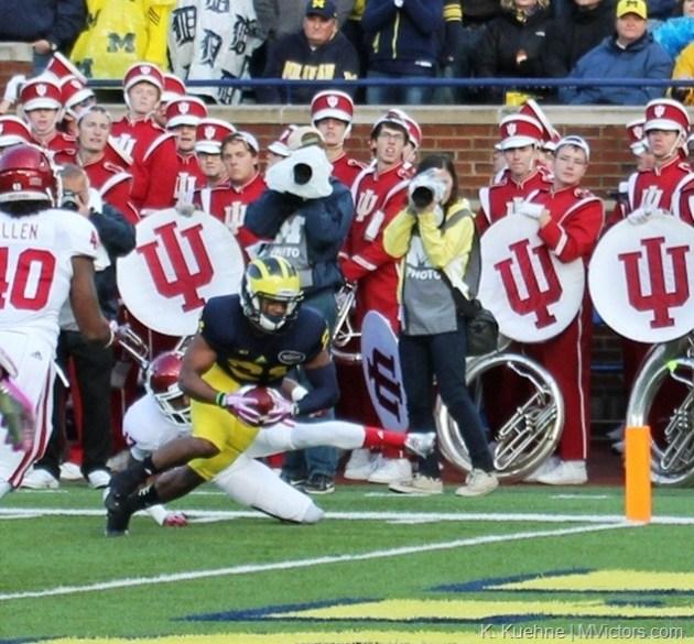 Jeremy Gallon - Indiana vs Michigan 10-19-2013