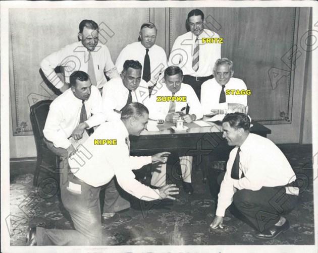 Kipke and coaches 1931 360785202817