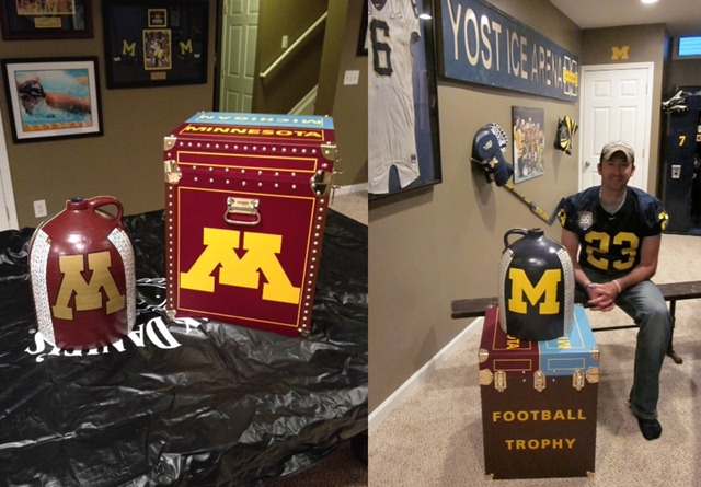Michigan Man Cave Ideas : Little brown jug replica mvictors
