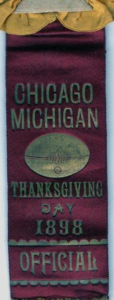 1898 Officials Ribbon