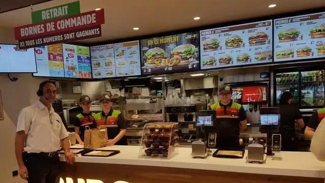 agneaux burger king pret a servir ses