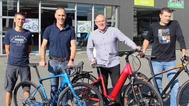 montgermont un magasin de cycles giant