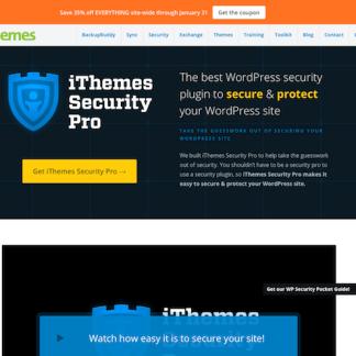 iThemes: Security Pro WordPress Plugin