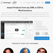 WP All Import Add-On: WooCommerce