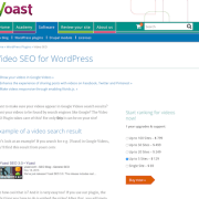 Yoast: Video SEO Premium Plugin