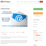 AppThemes: Confirm Email