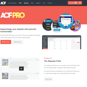 Advanced Custom Fields (ACF) Pro