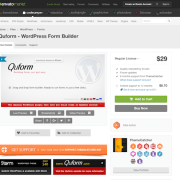 Codecanyon: Quform - WordPress Form Builder