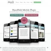 Elegant Themes: Handheld WordPress Plugin