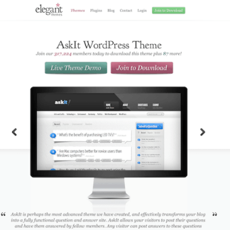 Elegant Themes: AskIt WordPress Theme