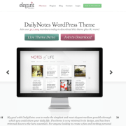 Elegant Themes: DailyNotes WordPress Theme