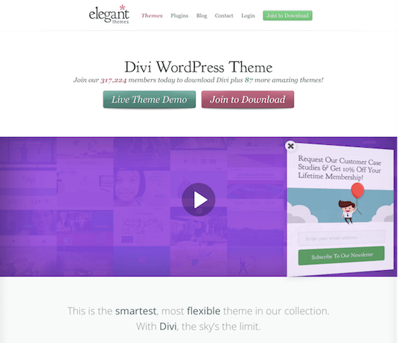 Elegant Themes: Divi WordPress Theme