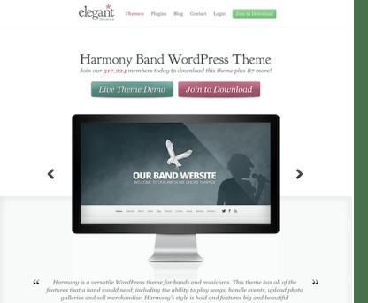 Elegant Themes: Harmony WordPress Theme