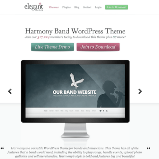 Elegant Themes: Harmony WordPress Theme
