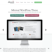 Elegant Themes: Minimal WordPress Theme