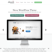 Elegant Themes: Nova WordPress Theme