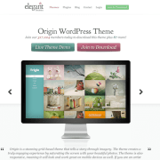 Elegant Themes: Origin WordPress Theme