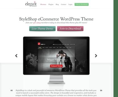 Elegant Themes: StyleShop WooCommerce Theme