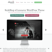 Elegant Themes: StyleShop WooCommerce Theme