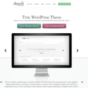 Elegant Themes: Trim WordPress Theme