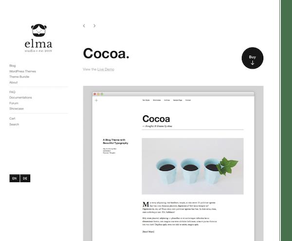 Elmastudio: Cocoa WordPress Theme