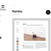 Elmastudio: Namba WordPress Theme