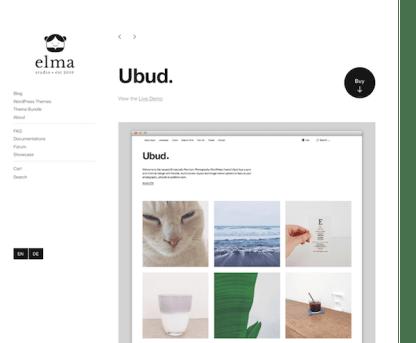 Elmastudio: Ubud WordPress Theme