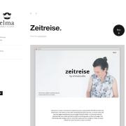 Elmastudio: Zeitreise WordPress Theme