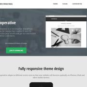 Graph Paper Press: Cooperative WordPress Theme